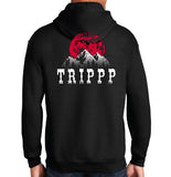 Album Cover | TRIPPP Hoodie - Running Threads Screen Printing and Embroidery