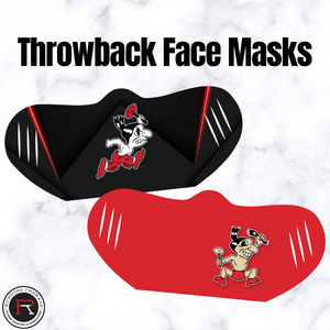 Throwback Face Masks - Running Threads Screen Printing and Embroidery