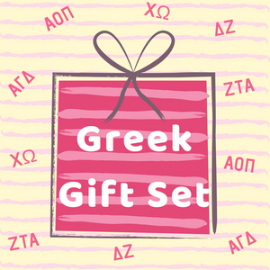 Greek Gift Set 2019 - Running Threads Screen Printing and Embroidery