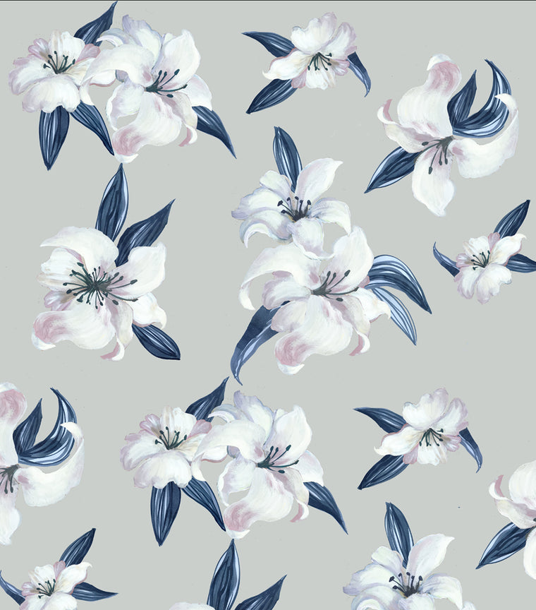 Print Design - Lillies Stone