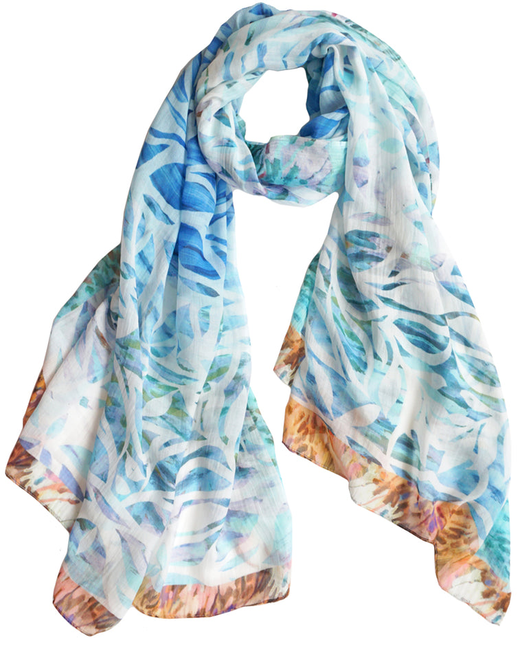 Pina - Silk/Cotton Scarf and Sarong