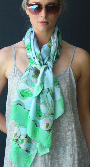 Chandelier - Silk Scarf