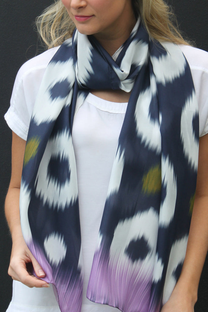 Halo - Silk Scarf