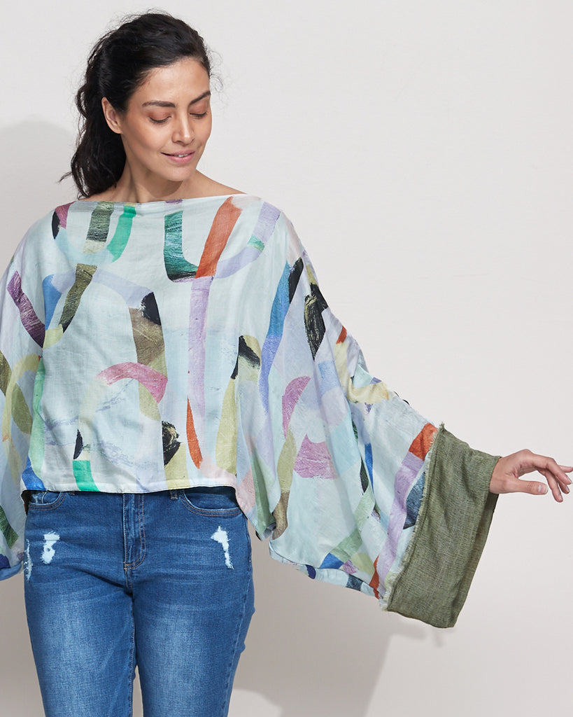 Loopy Light Silk Top