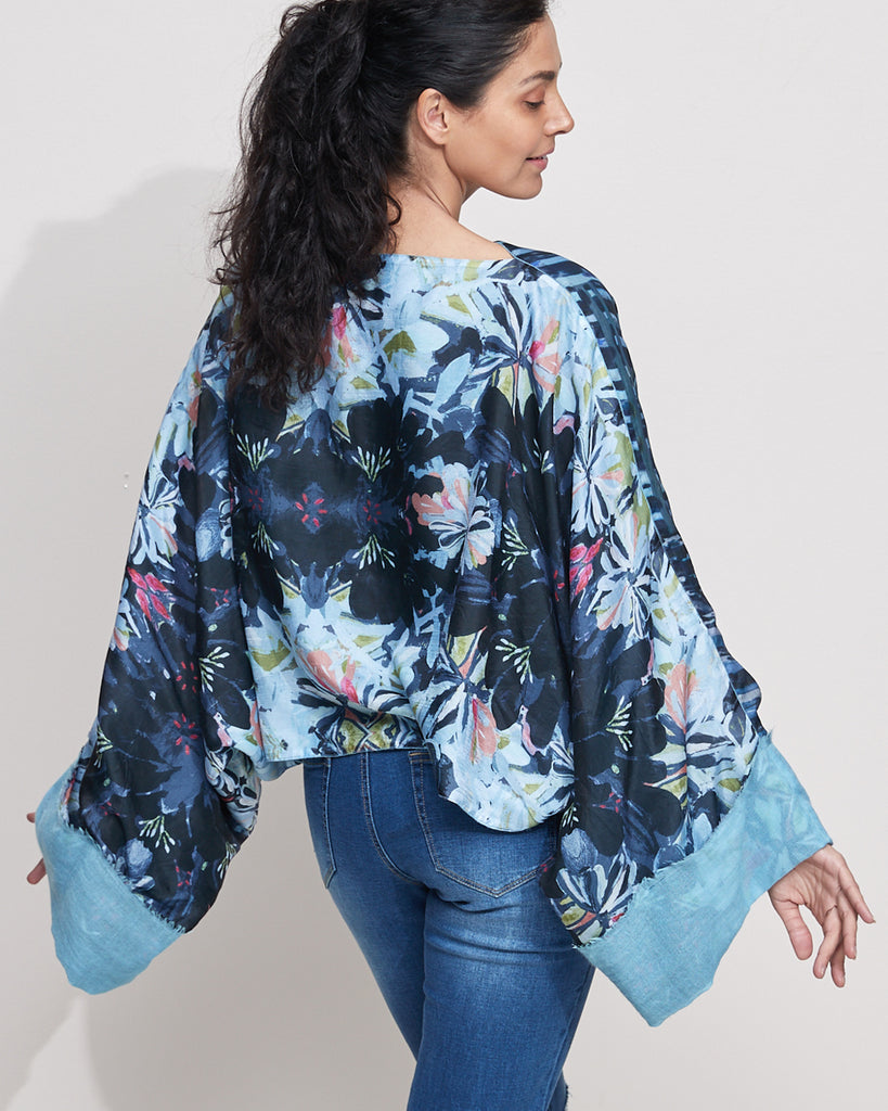 Tangle Silk Top