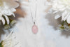 Lucie Rose Quartz Pendant  Pendants - TOPAZ AND CO.