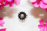 Sunflower Onyx Ring  Rings - TOPAZ AND CO.