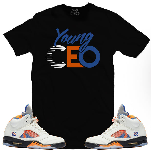 Jordan 5 international Young Ceo black tee-Young Ceo