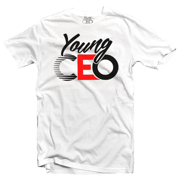 YOUNG CEO-YOUNG CEO LOGO BLK & RED