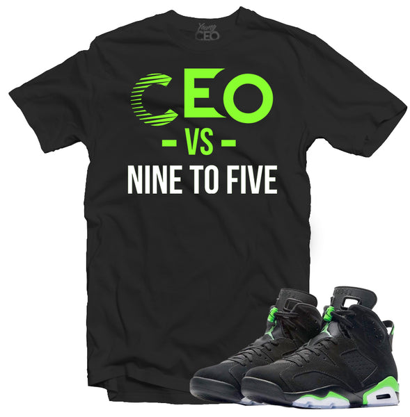 "Young Ceo - Jordan 11 ""Space Jam"" Young Ceo Black Tee"