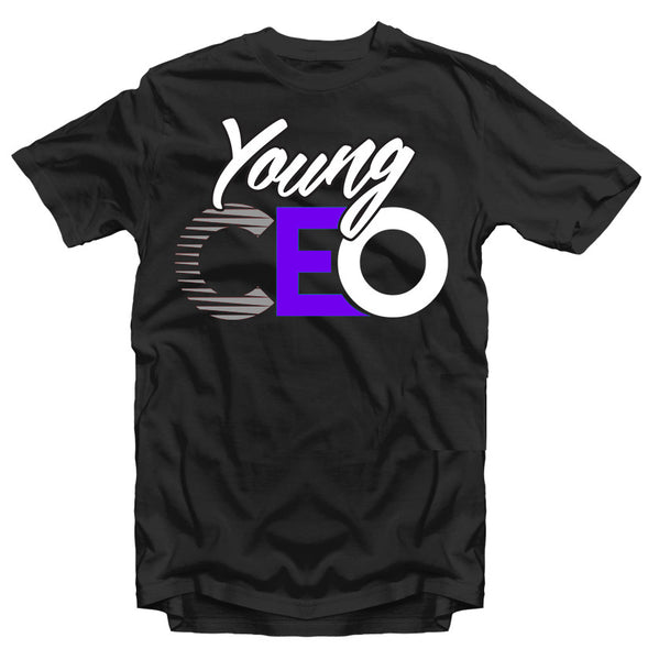 "YOUNG CEO-JORDAN 11 ""SPACE JAM"" YOUNG CEO BLACK TEE"