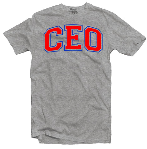 Ceo staple heather grey tee-Young Ceo