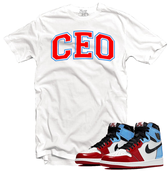 Jordan 1 fearless CEO staple tee-Young Ceo