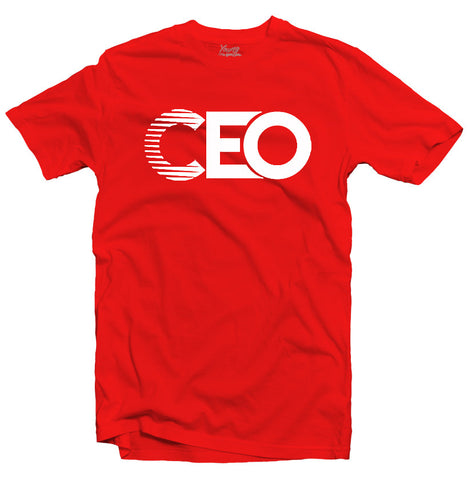 CEO RED TEE
