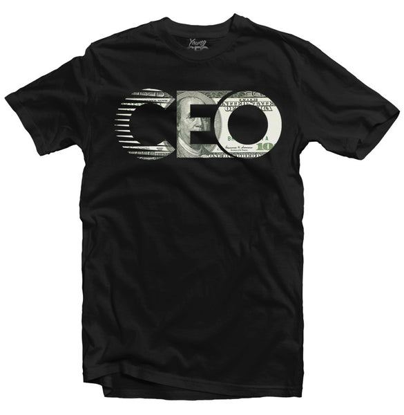 CEO $100 BILL BLACK TEE