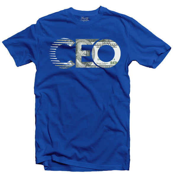 CEO $100 BILL ROYAL TEE