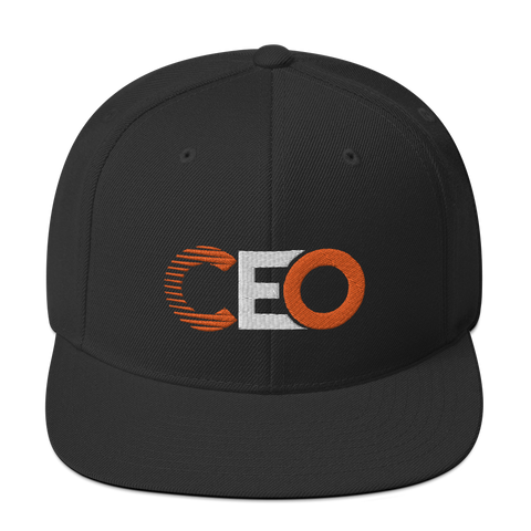 Ceo Black/Orange Snapback