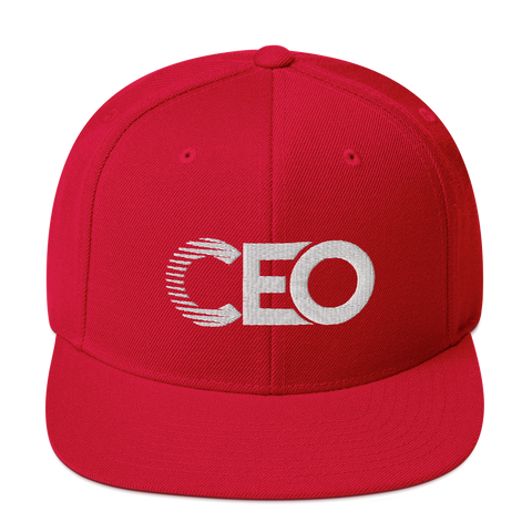 Ceo red Snapback