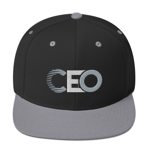Ceo black/grey Snapback