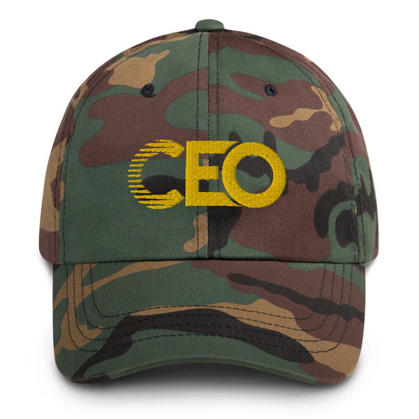Ceo Gold Dad hat