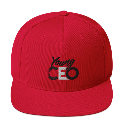 Young Ceo Red Snapback hat