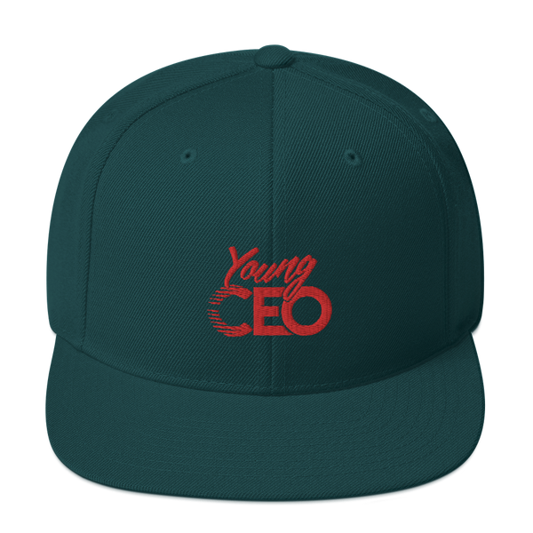 Young Ceo Forest green Snapback Hat