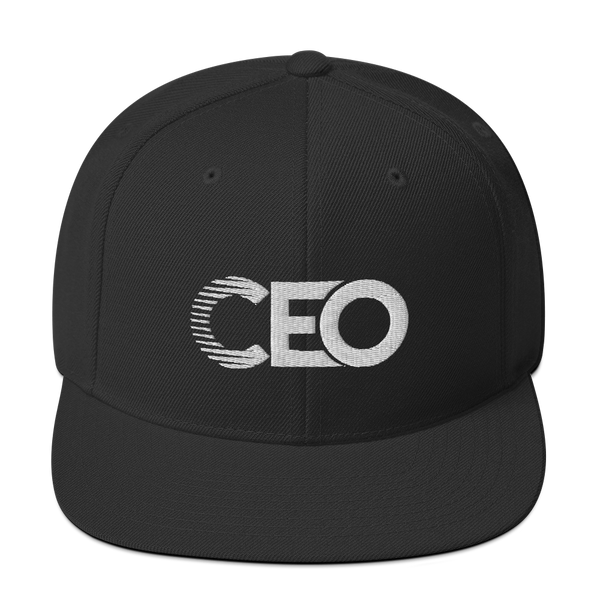 Ceo black/white Snapback
