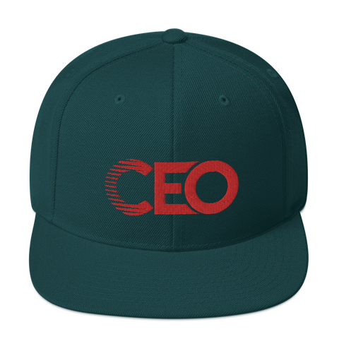 Ceo Forest Green Snapback