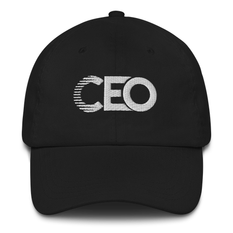 Ceo Black/White Dad hat
