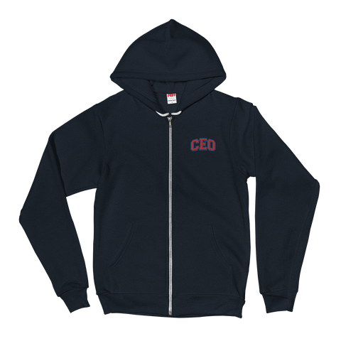 Ceo Zip-Up Hoodie sweater