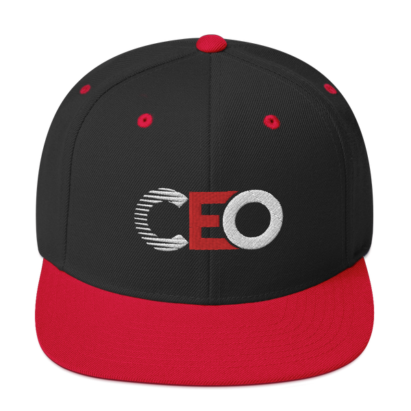 Ceo bred Snapback hat