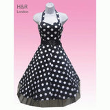 JATOE sells Hearts and Roses London dresses including the Black and White Large Polka Dot Halterneck Dress