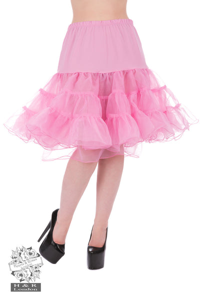 Hearts and Roses Pink Petticoat S-M-L