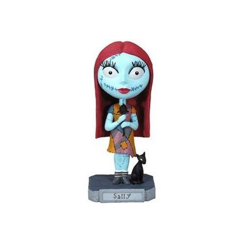 The Australian online store, JATOE, specialises in selling Pop Culture and the Nightmare Before Christmas merchandise. This is a non-mint Sally Wacky Wobbler Bobble Head.