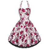 JATOE sells the Hearts and Roses White and Pink Floral Long Plus Size dress ww.jatoe.com.au