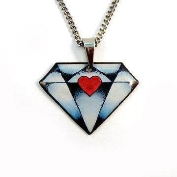 Jubly Umph Necklace - Diamond Pendant Necklace.
