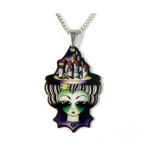 Jubly Umph Necklace - The Wicked Witch of the West Pendant Necklace
