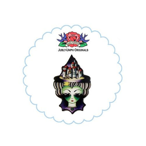 Jubly Umph Brooch - The Wicked Witch of the West Brooch