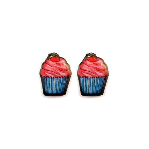 Jubly Umph Earrings Cupcake Stud Earrings