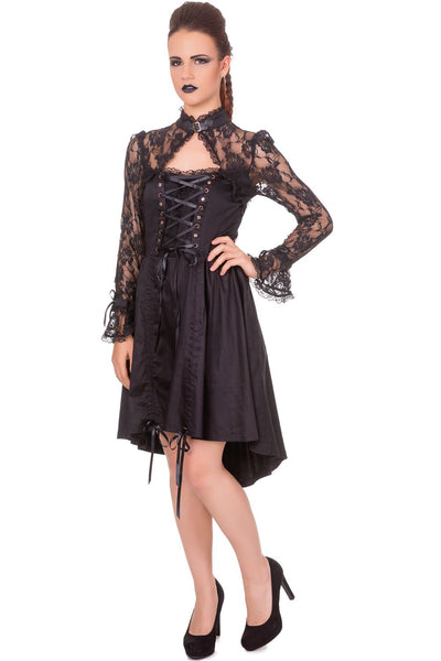 JATOE sells Banned's Black Betty Dress is for those who love Gothic and Steampunk fashion. www.jatoe.com.au