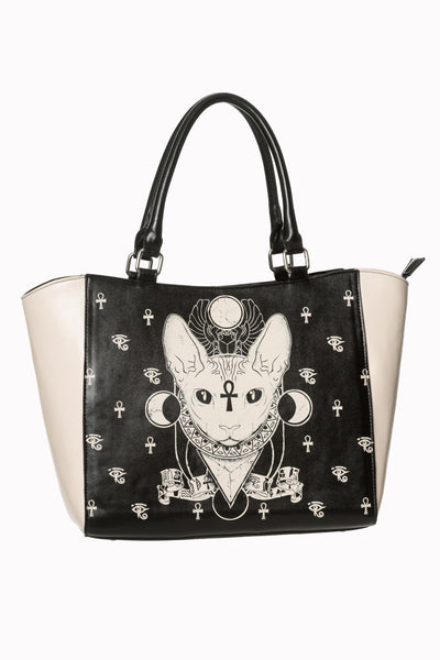 JATOE sells a Banned tote bag featuring Bastet