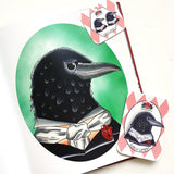 Jubly Umph Brooch Edgar Allan Crow Brooch