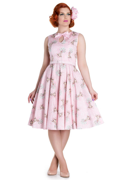 Hell Bunny - Deery Me 50s Dress (4596)