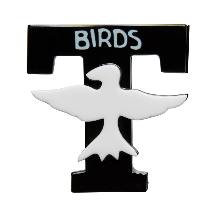 Australian Online store JATOE sells Erstwilder Brooches and necklaces. The T-Bird Brooch.
