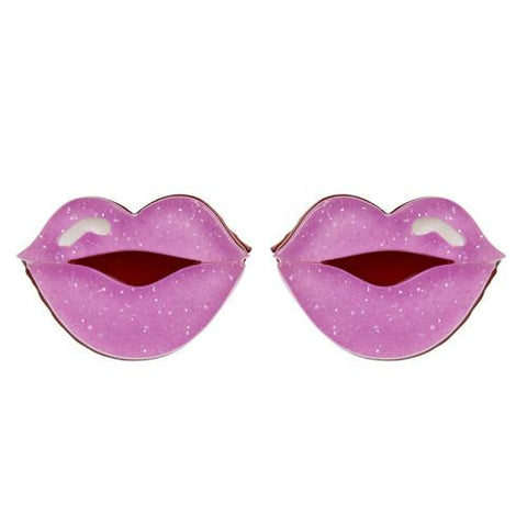 Erstwilder - Fashion - Kiss and Tell Lavender Earrings