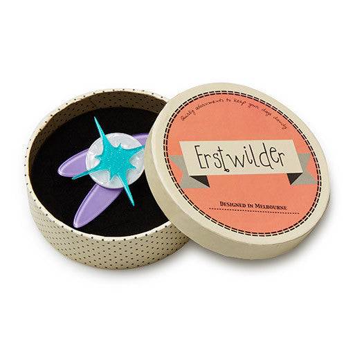 Erstwilder - Space - Super Dooper Nova Brooch