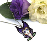 A fabulous pendant necklace of Melbourne based Jubly Umph's Evil Sorceress. Make sure you buy the whole collection! Sold at JATOE - Just a Touch of Everything.