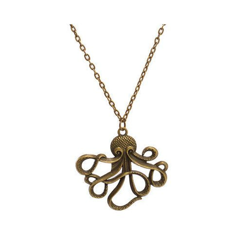 JATOE sells ReStyle's Classic Steampunk Octopus Necklace.