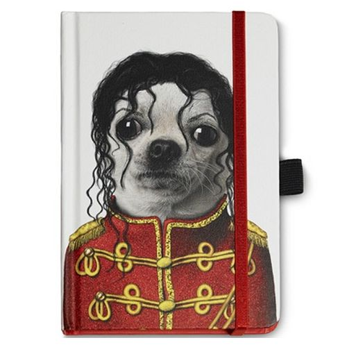 Australia JATOE sells Pets Rock Famous Faces Michael Notebook