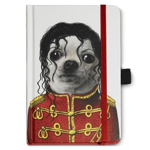 Pets Rock - Famous Faces - Michael Notebook